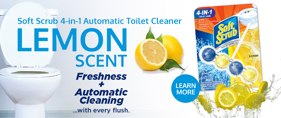 4-in-1 Toilet Care Lemon Scent