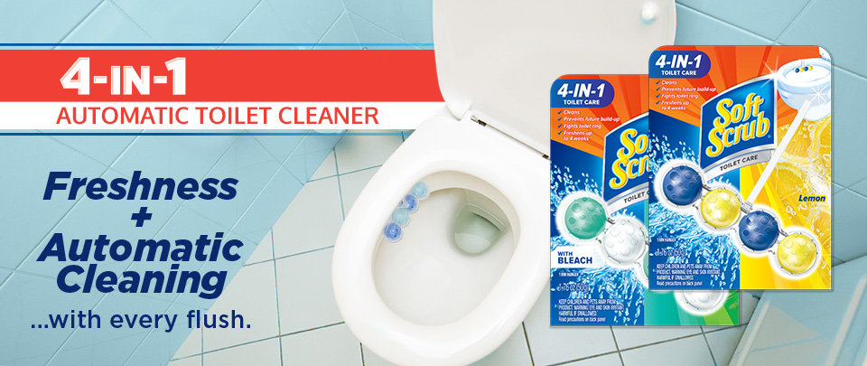 4-in-1 Toilet Care Regular