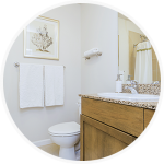 A Non-Scratch Bathroom Cleaner That's Tough on Stains, Gentle on Surfaces