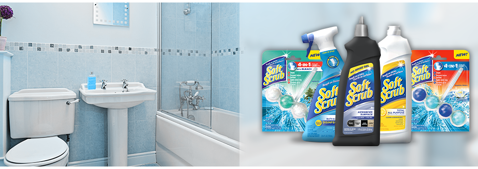 How To Clean Your Bathroom How To Quickly Clean Your Bathroom  Soft Scrub