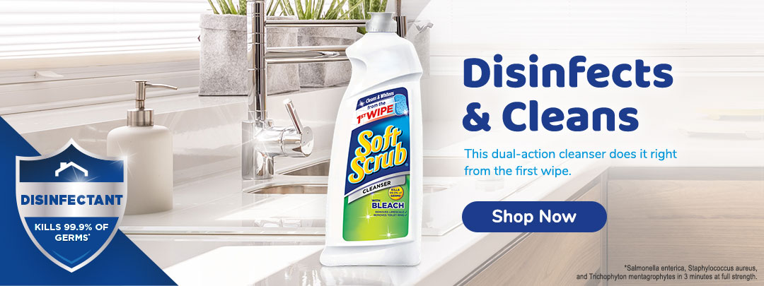 Disinfects & Cleans