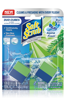 Soft Scrub® Duo-Cubes In-Tank Automatic Toliet Cleaner – Alpine Fresh